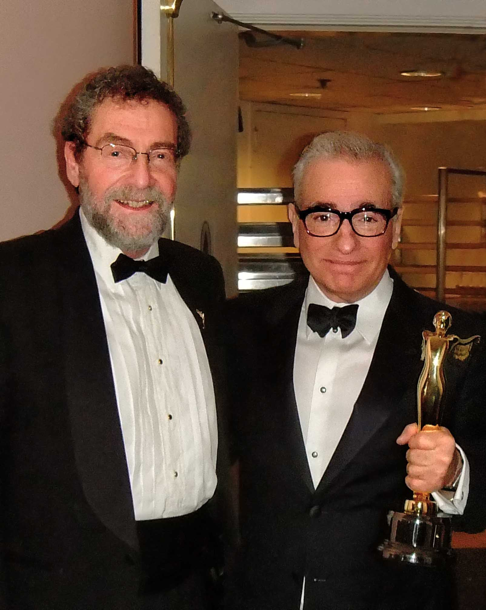 Lenny Lipton and Martin Scorsese