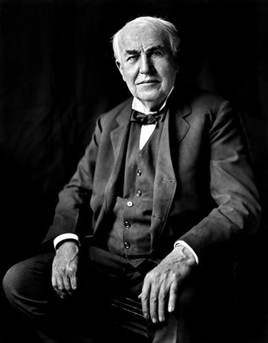Edison in his later years