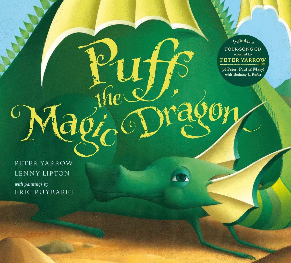 Puff the Magic Dragon book cover